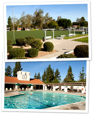 Oaks North Community Center - Lawn Bowling, Swimming, Tennis